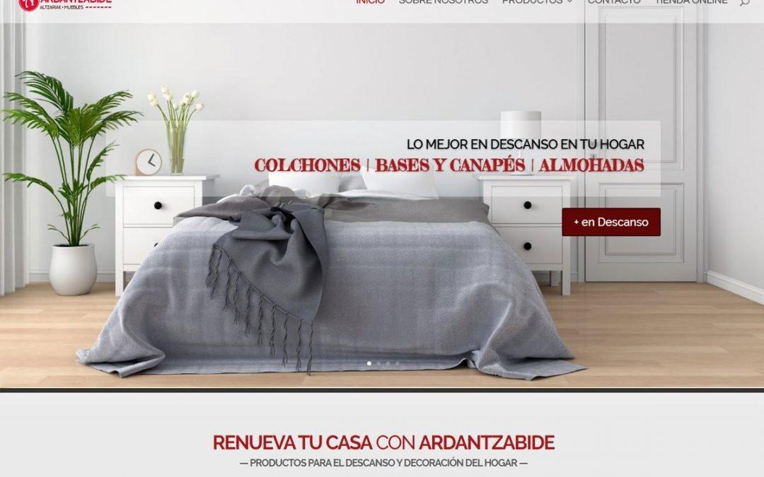 Ardantzabide Diseño Web