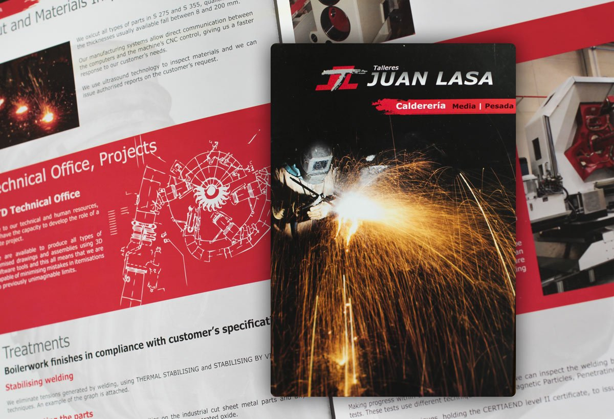 Diseño Catálogo industria