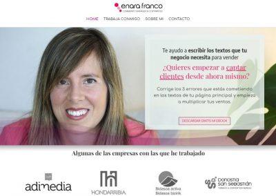 Enara Franco Diseño Web