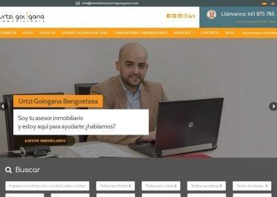Urtzi Goiogana Diseño Web
