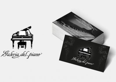 La Galería del Piano Tarjeta Visita