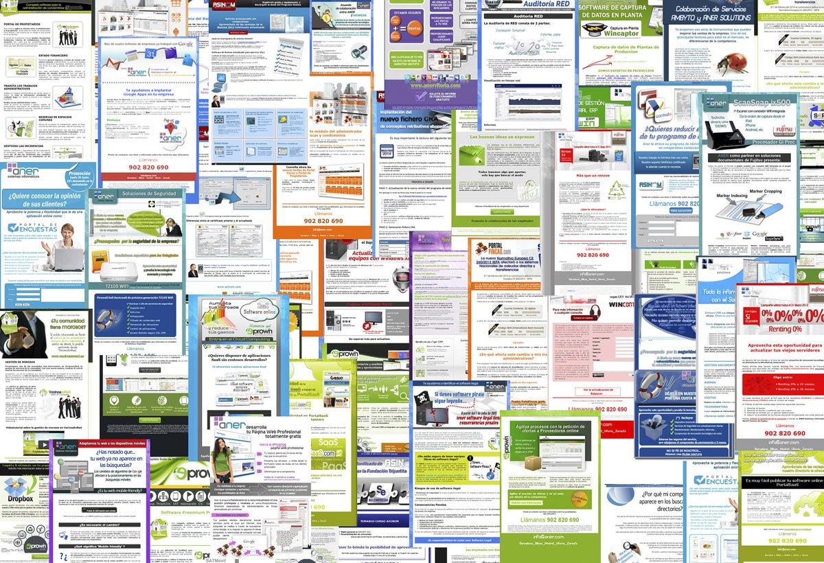 Diseño de Newstellers HTML