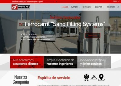 Diseño Web Newtek