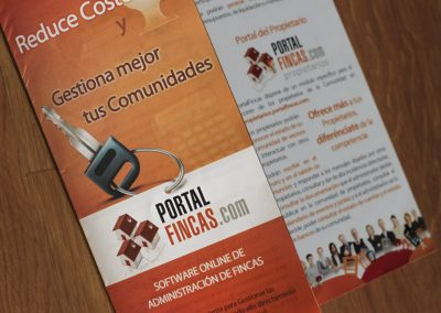 Portalfincas Folleto