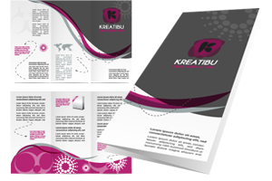 Diseñar folleto comercial